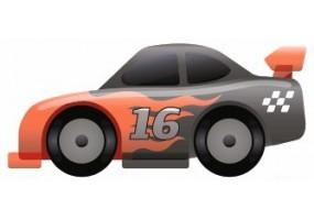 Sticker voiture de course pour la chambre de vos enfants - Course voiture enfant ...