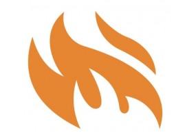 Sticker flamme