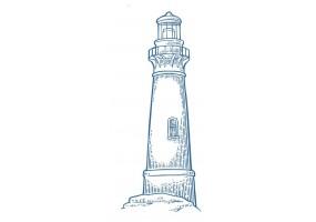 Sticker marin phare