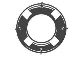 Sticker marin bouée