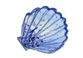 Sticker marin coquillage