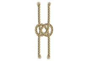 Sticker marin corde