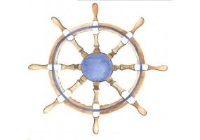 Sticker marin