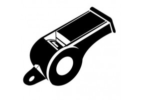 Sticker musique instrument sifflet