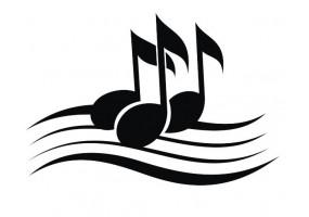 Sticker note de musique