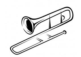 Sticker musiqu instrument