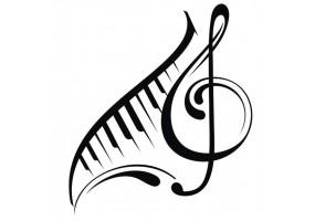 Sticker musique notes