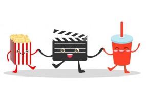 Sticker cinéma accessoires