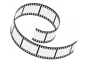 Sticker cinéma bobine de film