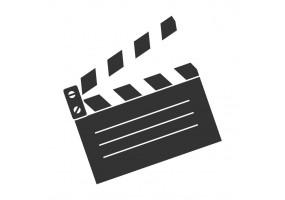 Sticker cinéma clap