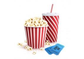 Sticker cinéma gourmandise