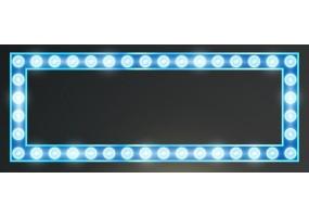 Sticker cinéma lumière bleue
