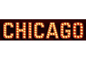 Sticker cinéma lumière Chicago