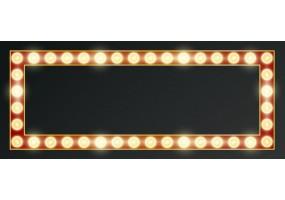 Sticker cinéma lumière rouge