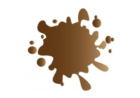 Sticker tache de couleur marron