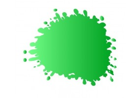 Sticker tache de couleur vert clair