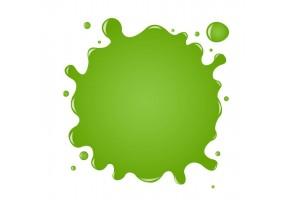 Sticker tache de couleur vert