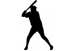 Sticker sport baseball
