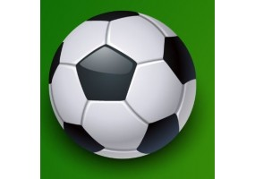 Sticker sport balle football