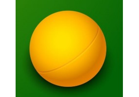 Sticker sport balle ping-pong