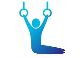 Sticker sport gymnastique