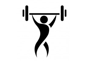 Sticker sport musculation