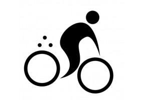 Sticker sport vélo
