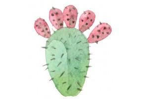 Sticker cactus décoration murale