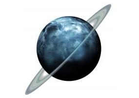 Sticker planète Uranus