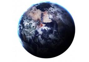 Sticker planète terre