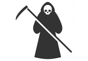 Sticker diable Halloween