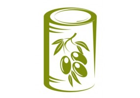 Sticker cuisine olive boite