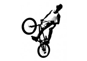 Sticker bmx vélo