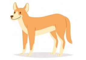 Sticker Australie chien