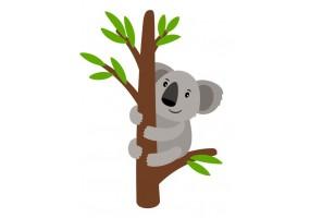 Sticker Australie koala branche