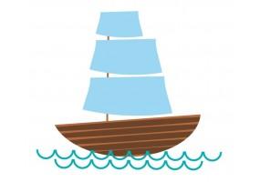 Sticker Australie bateau