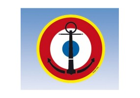 Sticker Cocade Marine