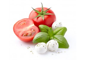 Sticker fromage mozzarella tomate