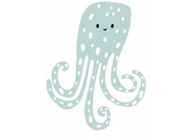 Sticker bébé pieuvre