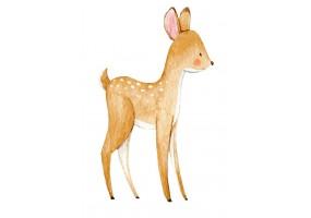 Sticker animaux biche
