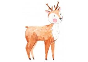 Sticker animaux cerf