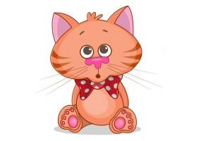 Sticker animaux chat