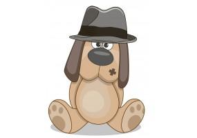 Sticker animaux chien