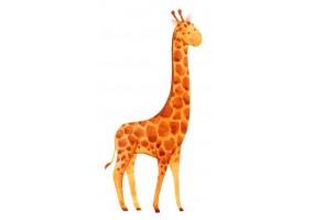 Sticker animaux girafe