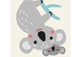 Sticker animaux koala