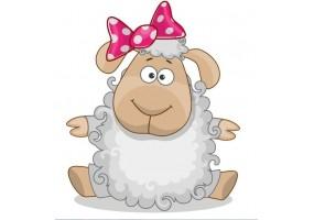 Sticker animaux mouton