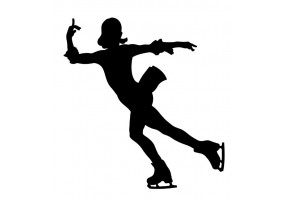 Sticker patinage artistique