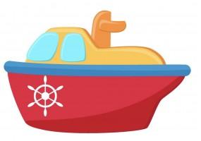 Sticker bateau