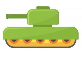 Sticker tank char