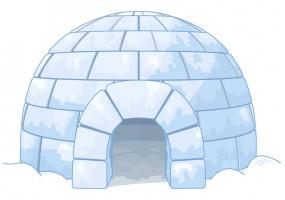 Sticker igloo